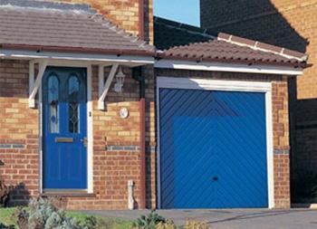 Chartwell Green 55 Automated Roller Garage Door Elite Gd
